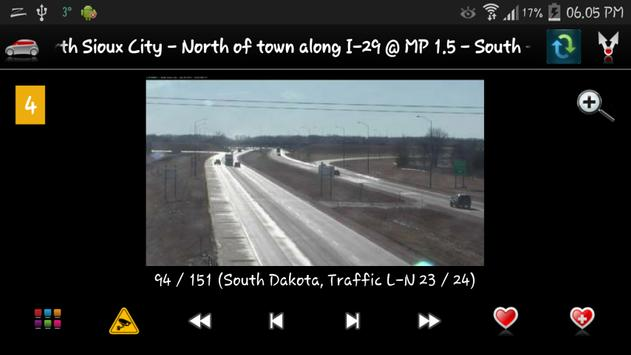Cameras South Dakota Traffic apk screenshot