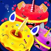 Unicorn Foods Bakery! Macaron Cookies & Donuts icon