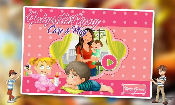Babysitter Nanny Care & Play poster