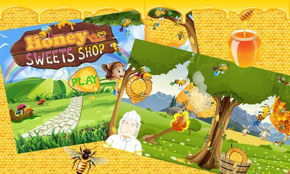 Honey Sweet Shop Dessert Chef poster