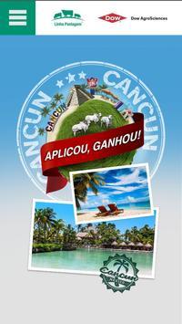 Aplicou Ganhou Cancun poster