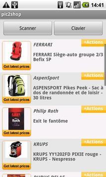 pic2shop Barcode & QR Scanner apk screenshot