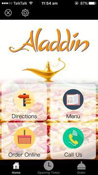 Aladdin Takeaway apk screenshot
