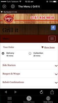 Grill It poster