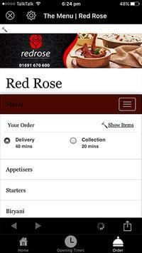Redrose apk screenshot