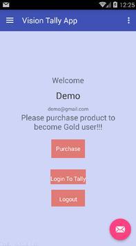 Vision Tally App poster