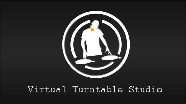 Virtual Turntable Studio poster