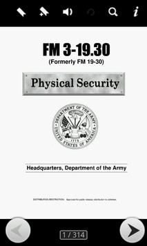Army Physical Security Guide apk screenshot