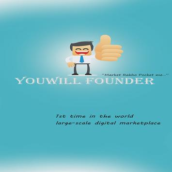 YouWILL Founder poster