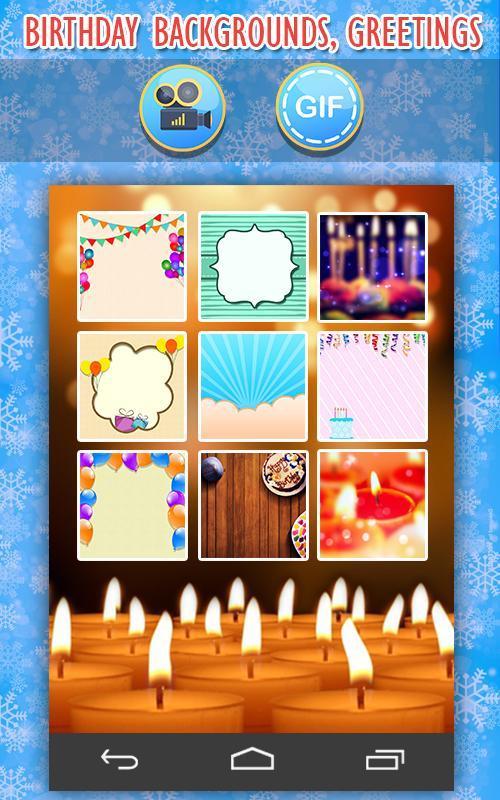 Birthday video maker apk download free video players editors app birthday video maker apk screenshot m4hsunfo