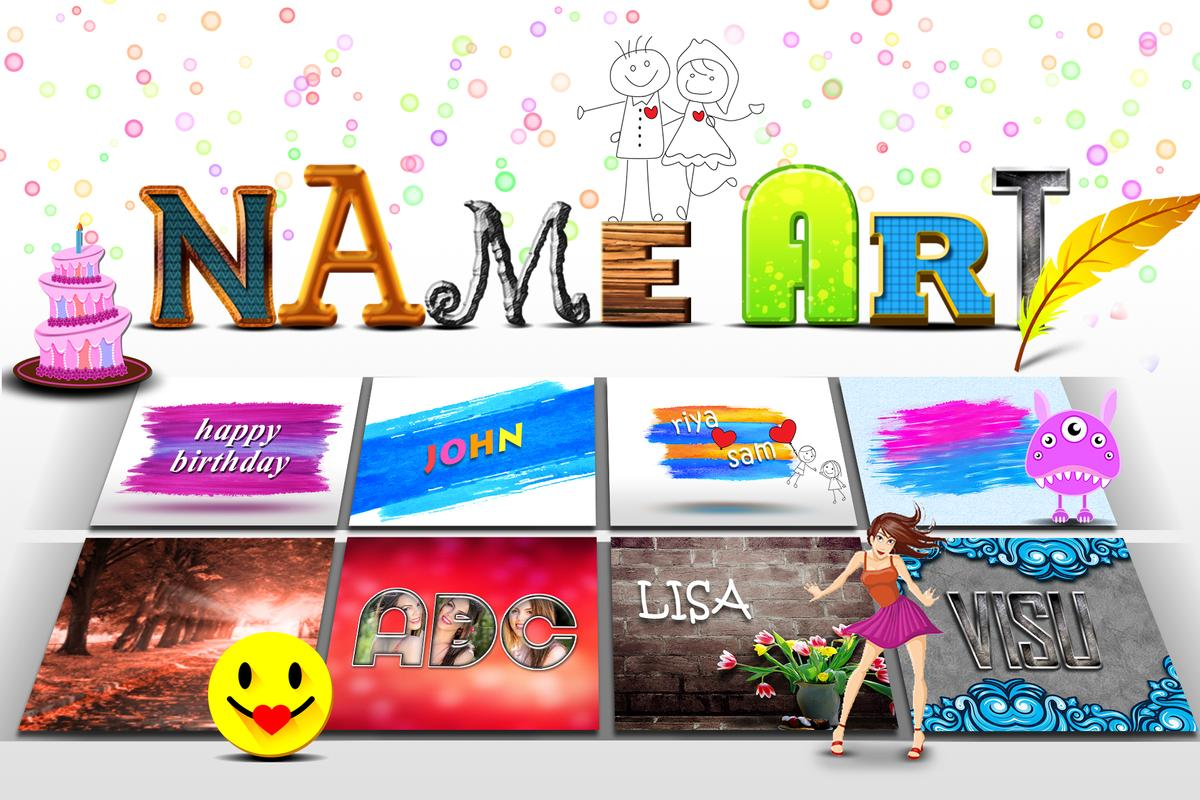 Image result for Name Art Photo Editor android application