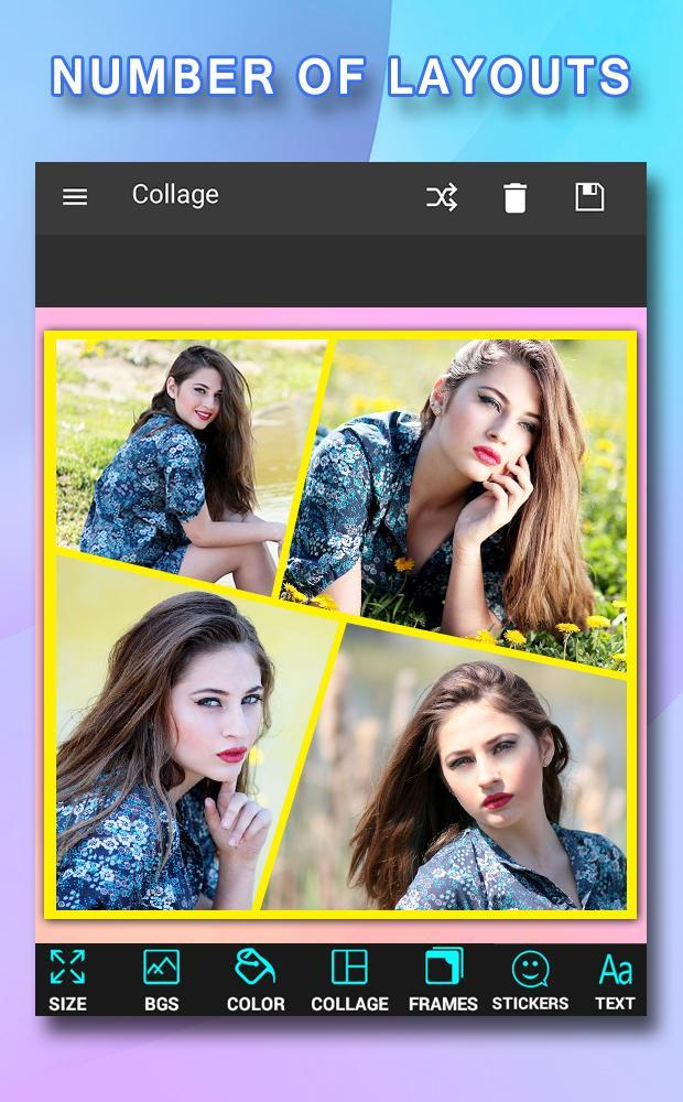 Pic Frames Collage for Android - APK Download