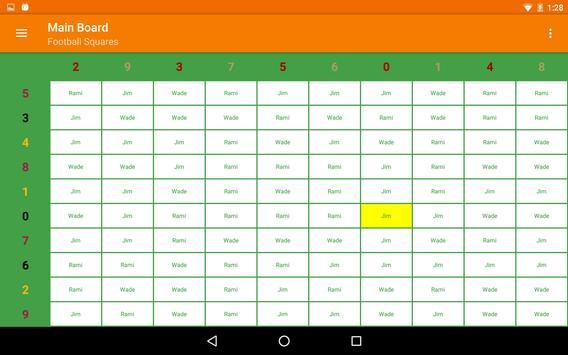 Football Squares apk screenshot