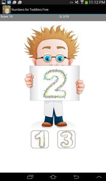 Numbers for Toddlers Free screenshot 9