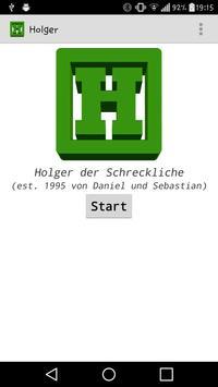 Holger poster
