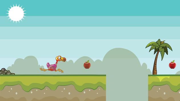 Pretty Dodo Runner Game Play poster