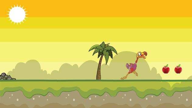 Pretty Dodo Runner Game Play apk screenshot