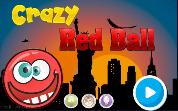 Crazy Red Ball poster