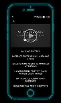 Affirmations, Self Hypnosis and Meditation Videos apk screenshot