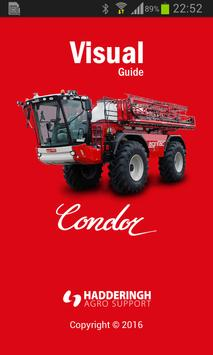 Agrifac Condor Visual guide poster