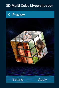 3d Photo Multi Cube Live Wallpaper 3d Cube For Android