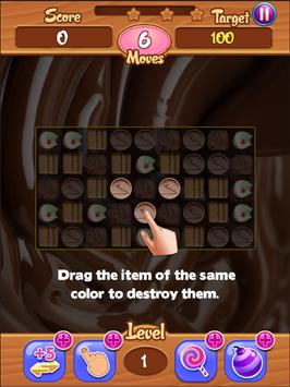 Chocolate Match Crush screenshot 3