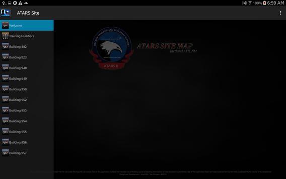 ATARS Site Map screenshot 5