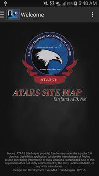 ATARS Site Map poster