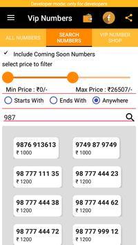 Vip Number Shop apk screenshot