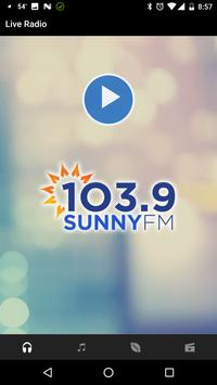 103.9 Sunny FM poster