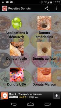 Recettes de Donuts poster
