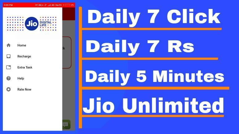 Jio Free Recharge - Jio ₹198 Plan Free Unlimited for