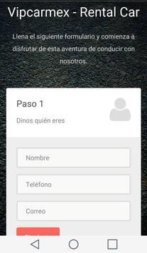 Vipcarmex - Rent Car screenshot 1