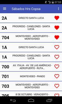 Ver Copsa Horarios Uruguay (no oficial) screenshot 2
