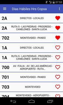 Ver Copsa Horarios Uruguay (no oficial) screenshot 3