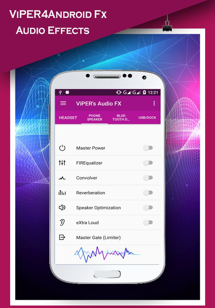 ViPER4android Fx- Audio Equalizer for Android - APK Download