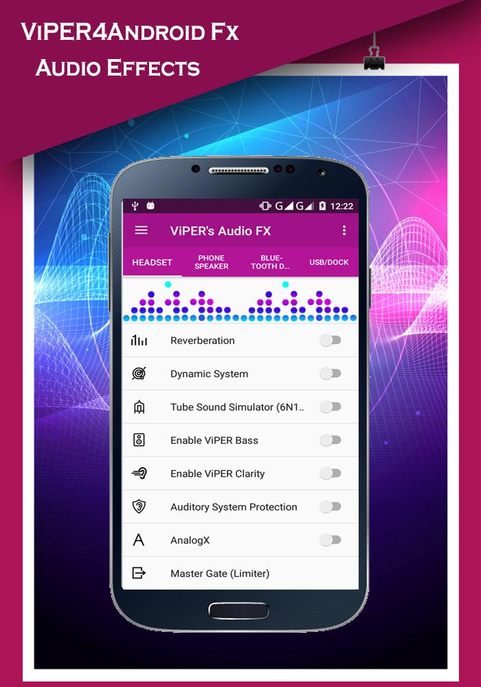 ViPER4Android Fx 2018 - Sound Equalizer for Android - APK