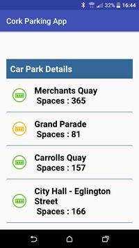Cork Parking App poster