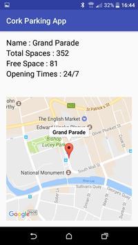 Cork Parking App screenshot 1