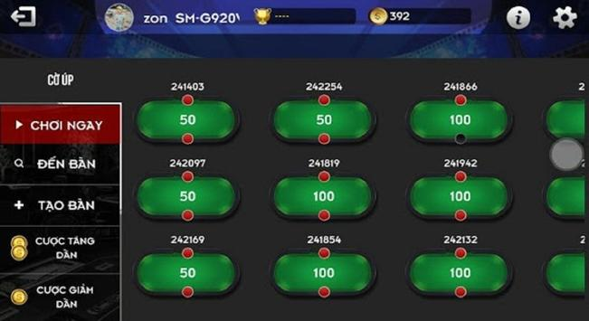 Club Tip 2018- Game bai doi thuong screenshot 8