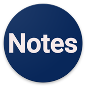 Notes (Note Down Notes) , Notepad icon
