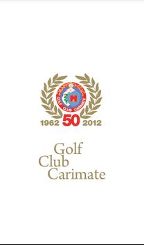 Golf Club Carimate poster