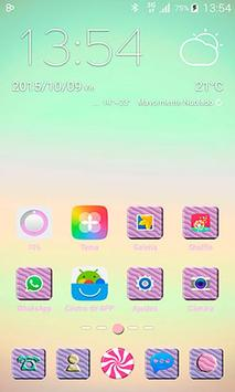 Candy Sweet GO Launcher Theme poster