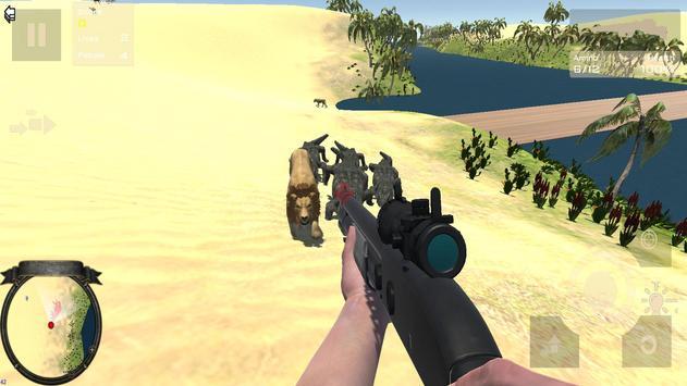 African Desert Hunting Patrol screenshot 6