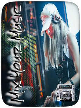 DJ MiX poster