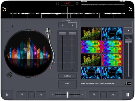 DJ MiX screenshot 1