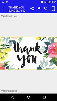 Thank You Wishes & Images screenshot 2