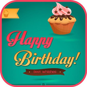 Birthday Images Share & Save icon