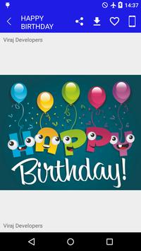 Birthday Images Share & Save apk screenshot
