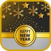 New Year Wishes GIF icon